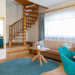 Turm Suite 55m2 ostseitig