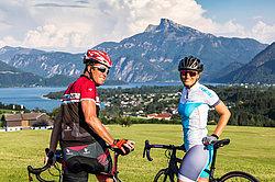 Rennradfahren im Salzkammergut © TVB Mondsee-Irrsee_Valentin Weinhäupl