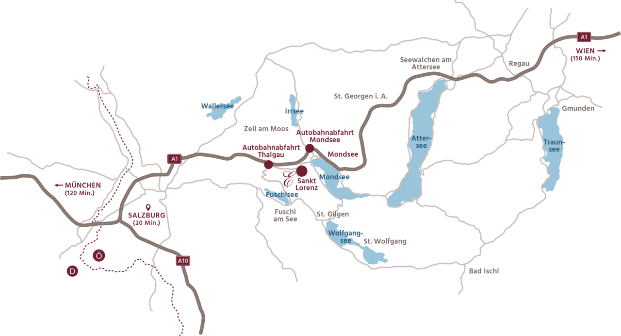 Eichingerbauer Lageplan