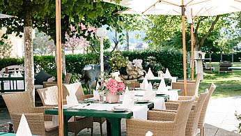 Terrasse Hotel Eichingerbauer****S