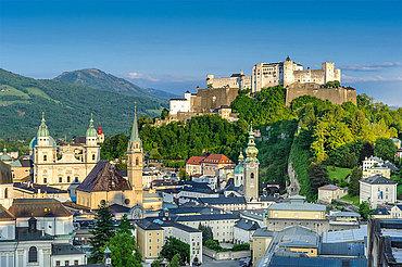 Festung Hohensalzburg und Salzburger Altstadt, ©Tourismus Salzburg, Foto: Breitegger Günter