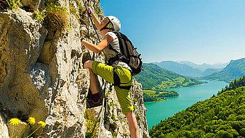 Spektakuläre Klettersteige
